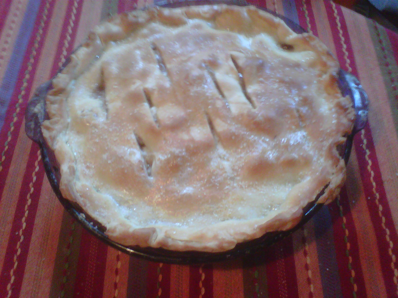 My Apple Pie Right Out of the Oven