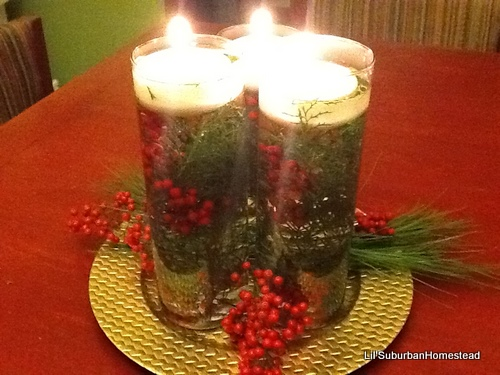 Cheap Chic Christmas Centerpiece Lil 39 Suburban Homestead