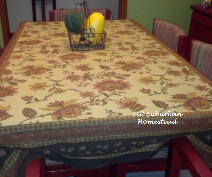 tablecloth, fall, thanksgiving