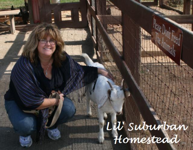 KarenLynn and the goat